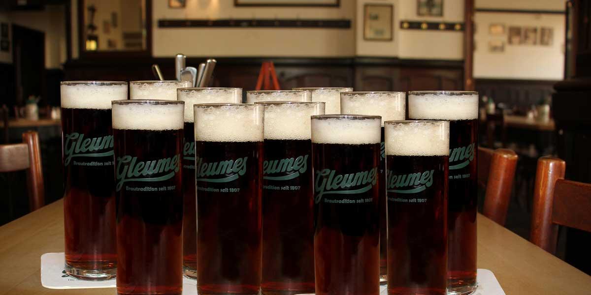 12er Meter Bier zum Aktionspreis
